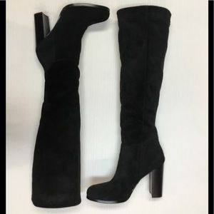 Nearly New Sam Edelman, Suede Leather Boots.